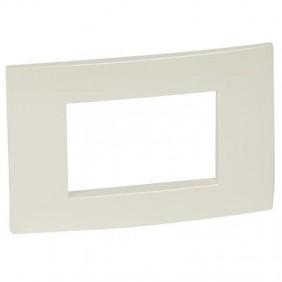 Legrand plate Vela square pearl metallic 3...