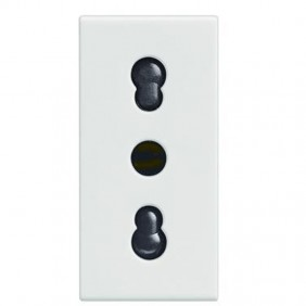Legrand Vela outlet white 10/16A two-way 687080