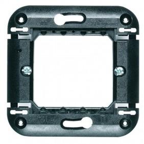 Legrand Vela support 2 modules pour boîte ronde...