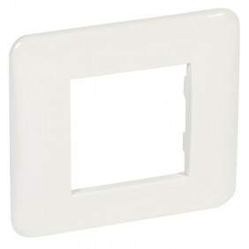 Plaque Legrand Series Cross 2 Places White 680531