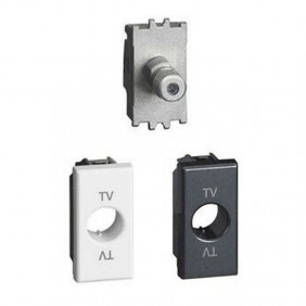 TV socket Legrand Vela coaxial direct...