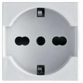 Bocchiotti bivalent schuko socket 2P+E 10/16A...