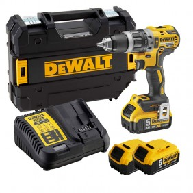 DeWALT Cordless Drill Driver with 3 x 18V XR...