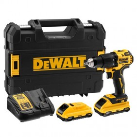 DeWALT Drill Driver with 2 x 18V XR 3Ah...