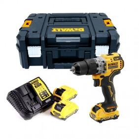 DeWALT Drill Driver with 2 x 12V XR Lithium...