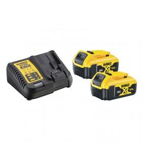 Starter KIT 2 x DeWALT 18V 5.0AH Battery and...