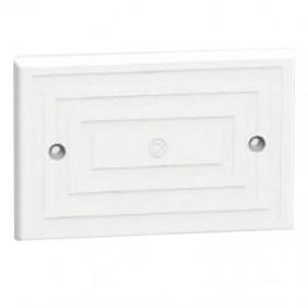 Blind plate 3 modules Arnocanali 83,5mm White...