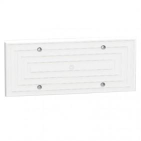 Blind plate 6-7 modules Arnocanali 100mm White...