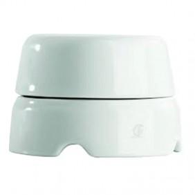 Gambarelli box in white porcelain 80mm 01510
