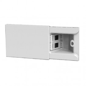 4Box Hide 3 modules sliding socket with two...