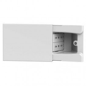 4Box Hide 3-module sliding socket with two...