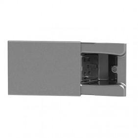 Concealed socket 4Box Hide 3 modules sliding...