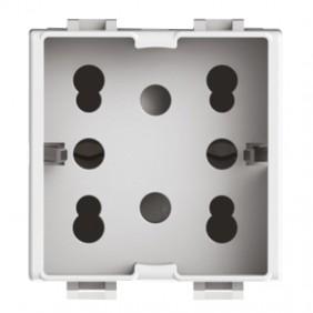 Universal Bipass and Schuko 10/16A 2 modules...