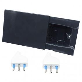Concealed socket 4Box Hide 3 sliding modules...