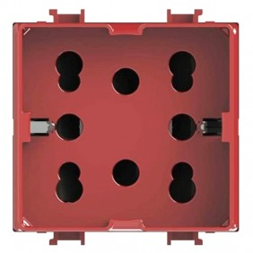 Presa Schuko 4Box SIDE per serie Bticino Matix...