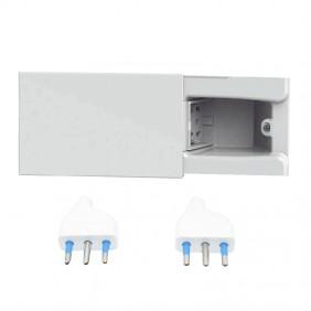 Concealed socket 4Box Hide 4 sliding modules...
