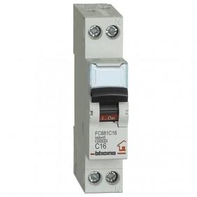 BTICINO CIRCUIT BREAKER 16A 1+N 4.5 KA FC881C16