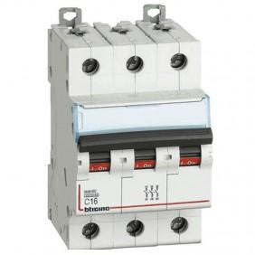 BTICINO circuit BREAKER 3-POLE 16A CURVE C, 6...