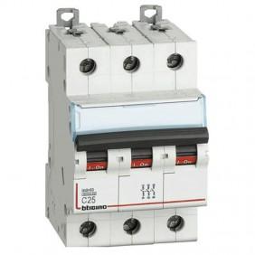 BTICINO circuit BREAKER 3-POLE 25A CURVE C, 6...