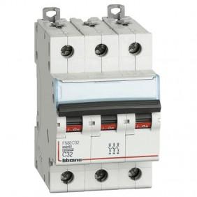 BTICINO circuit BREAKER 3-POLE 32A C CURVE 6 ka...