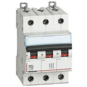 BTICINO circuit BREAKER 3-POLE 20A C CURVE 4.5...