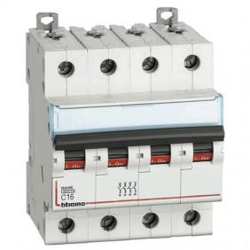 BTICINO circuit BREAKER, 4-POLE 16A CURVE C 4.5...