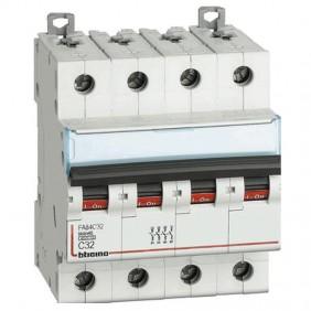 BTICINO circuit BREAKER, 4-POLE 32A C CURVE 4.5...