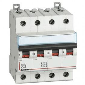 BTICINO circuit BREAKER 4 POLE 40A C CURVE 4.5...