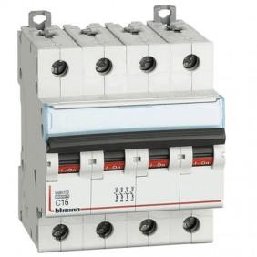 BTICINO circuit BREAKER, 4-POLE 16A C CURVE...