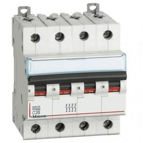 BTICINO circuit BREAKER, 4-POLE 20A C CURVE...