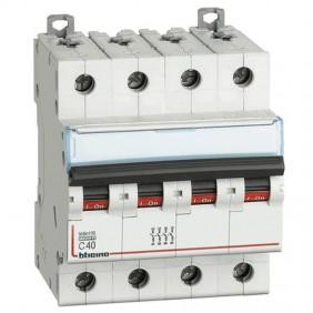BTICINO circuit BREAKER 4 POLE 40A C CURVE 10kA...