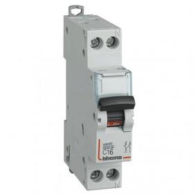 BTICINO circuit BREAKER 16A 1P+N 6 ka FN881C16