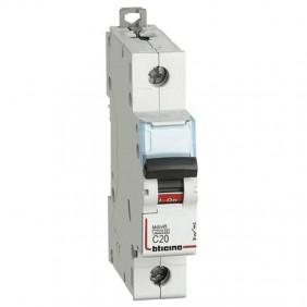 Bticino magnetotermico 1 polo 4,5KA 20A FA81C20