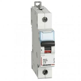 Bticino magnetotermico 1 polo 4,5KA 6A FA81C6