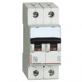 Circuit breaker, Bticino 2P 32A 4.5 kA Type C-2...