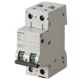 Circuit breaker Siemens 2P 16A 4.5 kA Type C-2...