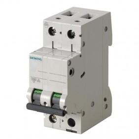 Circuit breaker Siemens 2P 10A 4.5 kA Type C-2...