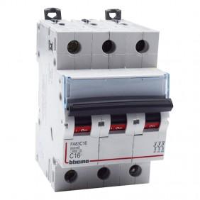 BTICINO circuit BREAKER 3-POLE 16A CURVE C 4.5...