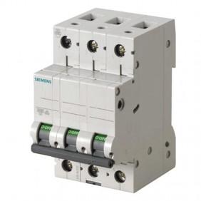 Circuit breaker Siemens 3P 25A 6 ka Type C 3...