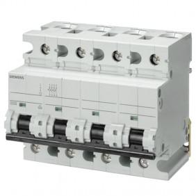 Circuit breaker Siemens 4P 125A 10kA C Type 6...