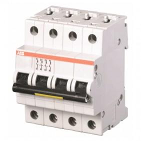 Interrupteur magnétothermique-ABB 4P 16A 25kA...