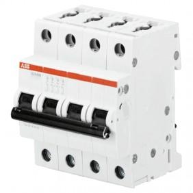 Interrupteur magnétothermique-ABB 4P 10A 10kA...