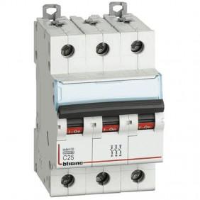 Bticino circuit breaker 3P C 25A 10kA 3 modules...