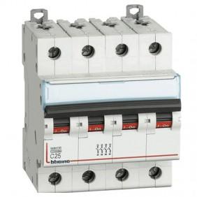 Bticino circuit breaker-4P C 25A 10kA 4 modules...