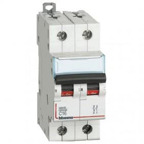 Breaker, Bticino breaker 1P+N 16A 2 modules...
