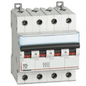 Breaker, Bticino breaker 3P+E 50A 4 modules...
