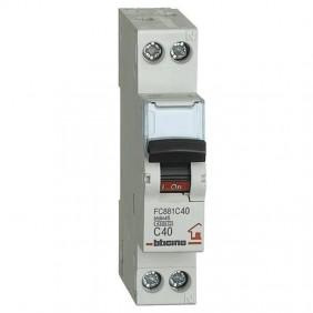 Breaker, Bticino breaker 1P+N 40A 1 form FC881C40