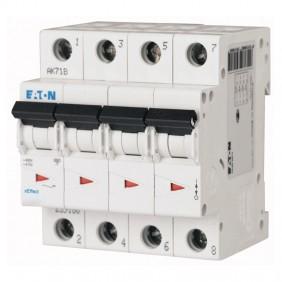 Interruttore magnetotermico Eaton 10A 4 poli...