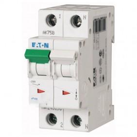 Circuit breaker-Eaton 6A 1P+N 4.5 KA 2 modules...