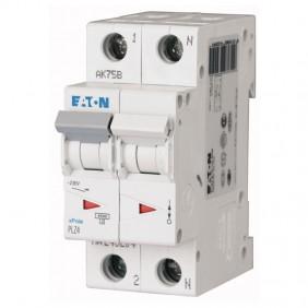 Circuit breaker-Eaton 16A 1P+N 4.5 KA 2 modules...